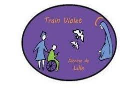 Logo de l'association Train violet
